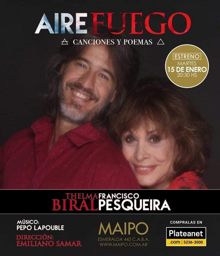 La magia de las palabras de la mano de Thelma Biral y Francisco Pesqueira