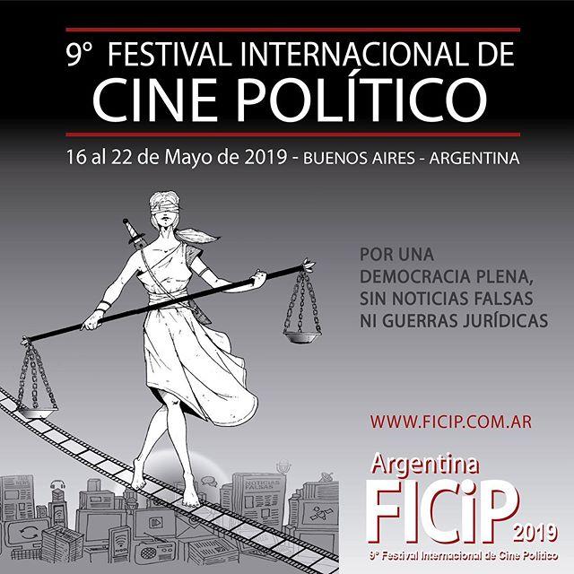 Comienza el Festival Internacional de Cine Político 2019.