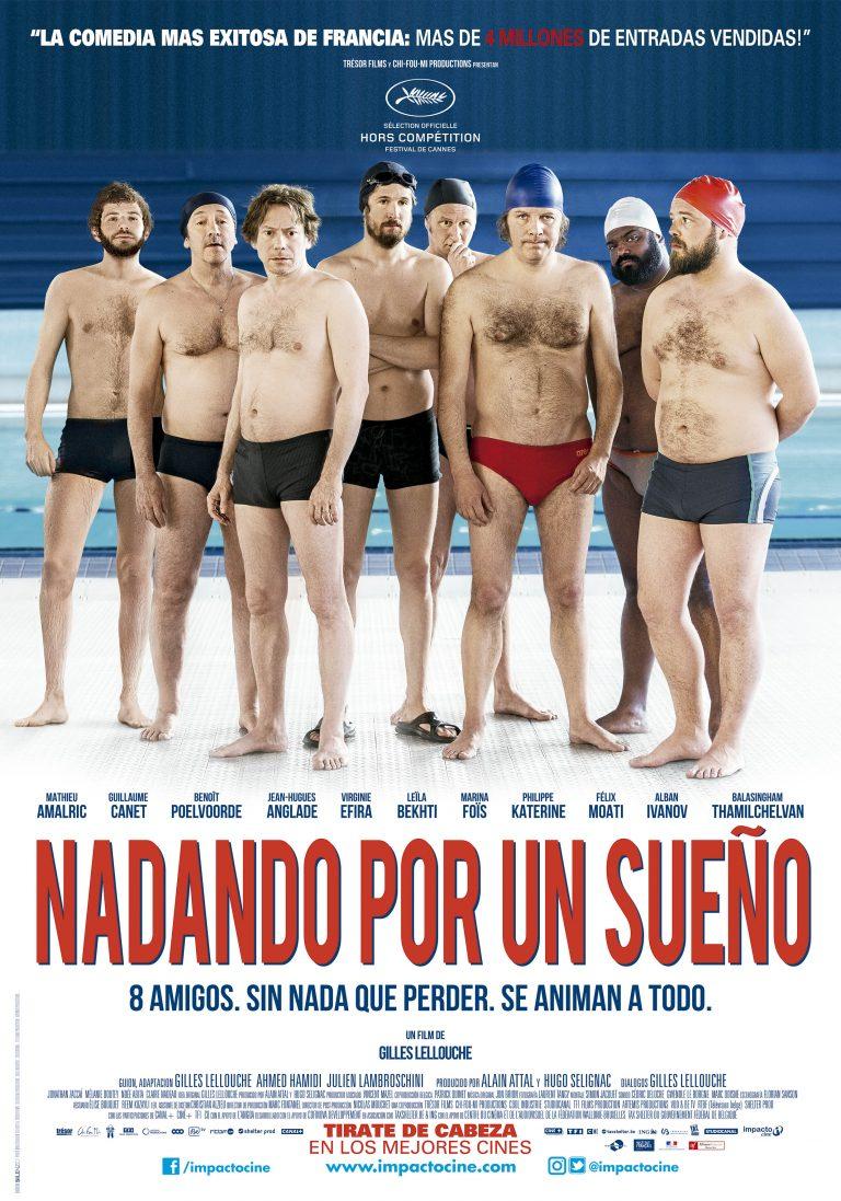 "Hombres al Agua. Crítica de ""Nadando por un Sueño"" de Gilles Lellouche."