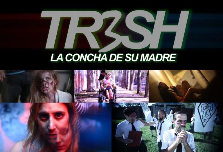 """Irreverente, Polémica y Transgresora. """"Tr3sh: La Concha de su Madre"""" de Alejo Rébora."""
